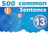 (13) 500 Most Common Chinese Sentence
