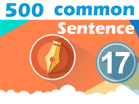 (17) 500 Most Common Chinese Sentence