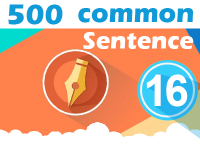 (16) 500 Most Common Chinese Sentence