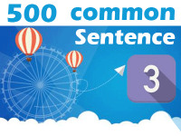 (3) 500 Most Common Chinese Sentence