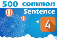 (4) 500 Most Common Chinese Sentence
