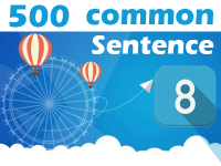 (8) 500 Most Common Chinese Sentence