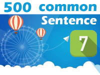 (7) 500 Most Common Chinese Sentence
