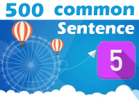 (5) 500 Most Common Chinese Sentence