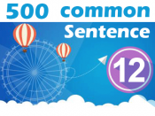 (12) 500 Most Common Chinese Sentence