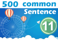 (11) 500 Most Common Chinese Sentence