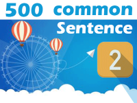 (2) 500 Most Common Chinese Sentence