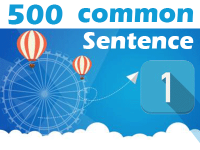 (1) 500 Most Common Chinese Sentence